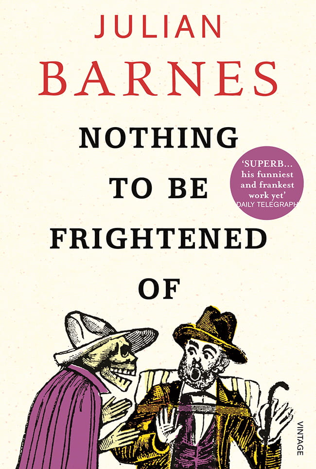 Nothing to be Frightened of book cover