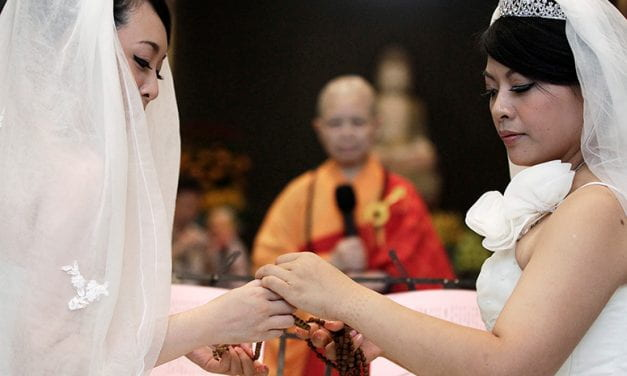 Buddhist Nun Leads Asia's Fight for Gay Marriage