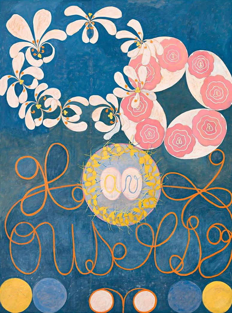 Hilma af Klint painting, Childhood