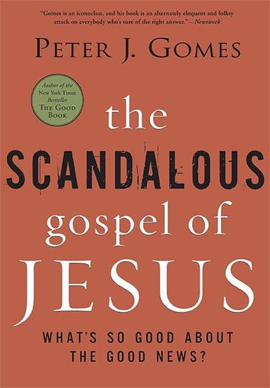 The Scandalous Gospel of Jesus book cover