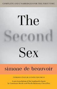 Book cover for The Second Sex