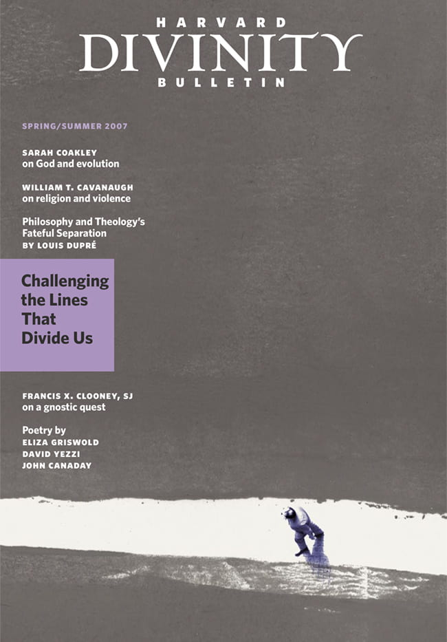 Spring Summer 2007 issue cover