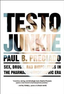 Book cover for Testo Junkie
