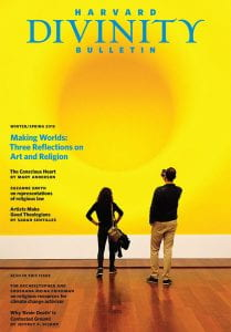 Cover of the Winter/Spring 2015 issue