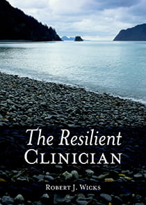 book cover for The Resilient Clinician