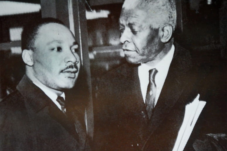 Benjamin Mays and Martin Luther King