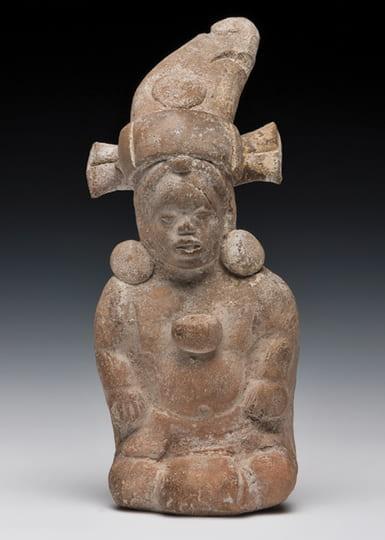 Photo of a human figure ocarina