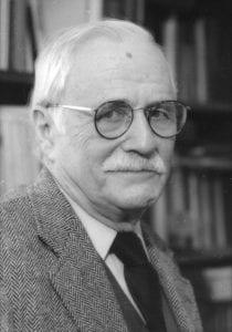 Photo of Richard Reinhold Niebuhr