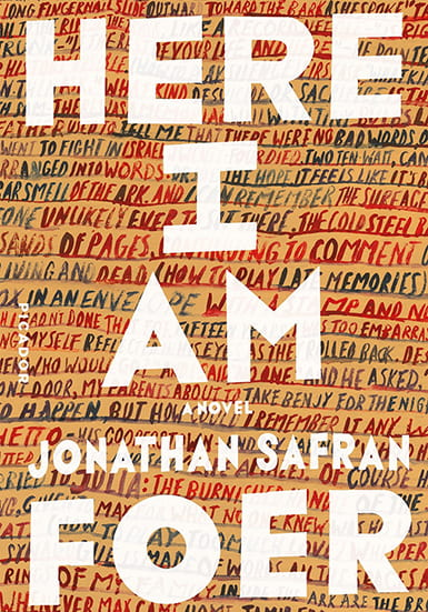 Book cover for Here I Am