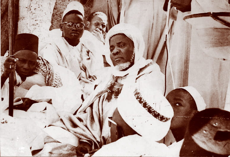 Photo of Ibrahaim NIasse and Sayyid Ali Cisse