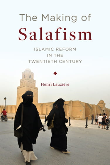 Book cover of The Making of Salafism