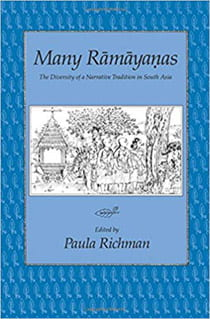 Book cover of Many Ramayanas