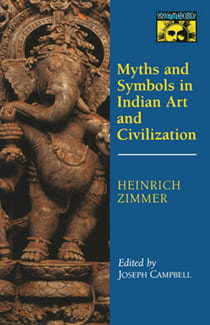 Book cover of Myths and Symbols in Indian Art and Civilization