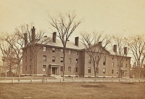 Historic photo of Divinity Hall