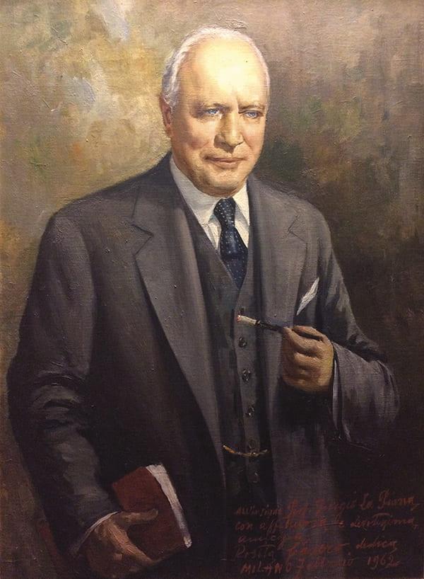 Portrait painting of La Piana