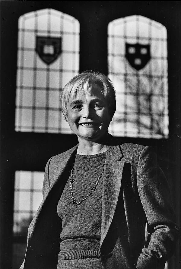 Elisabeth Schussler Fiorenza in the 1980s