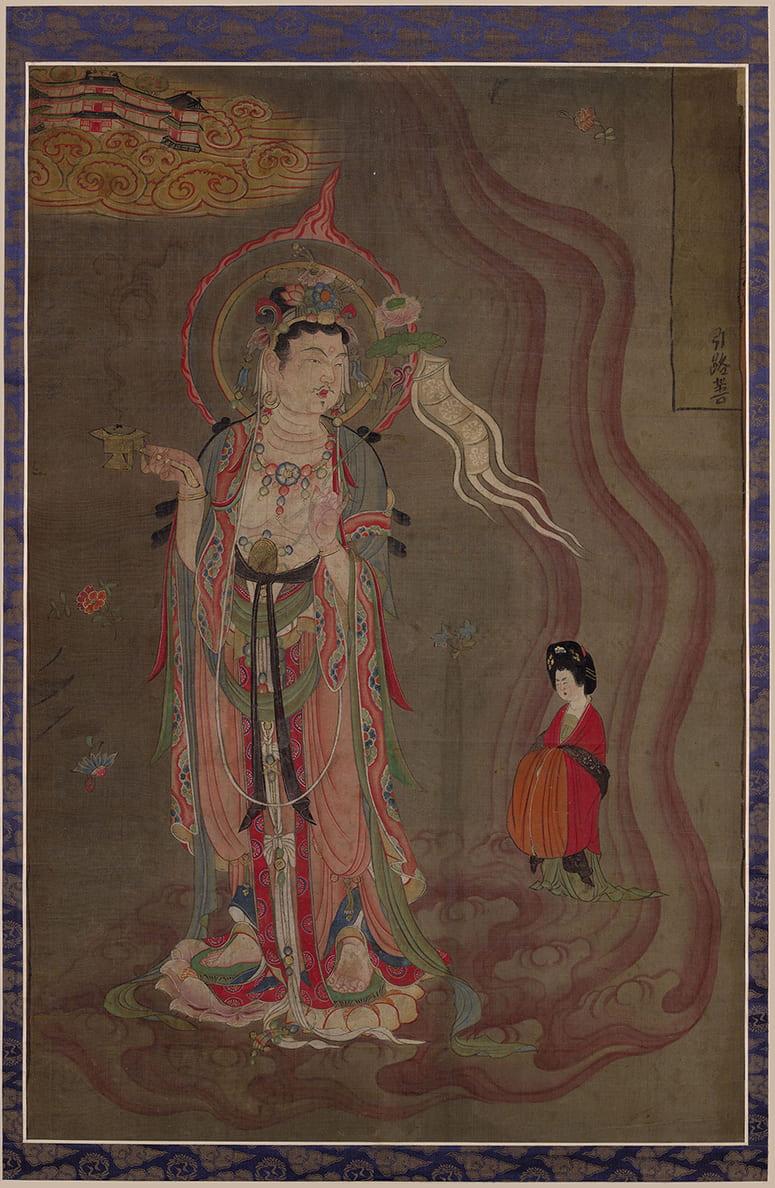 Painting of a Bodhisattva