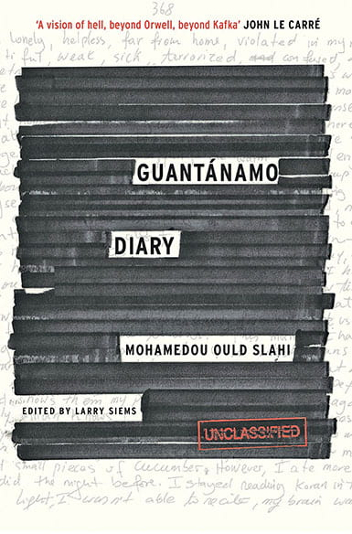 book cover for Guantanamo Diary