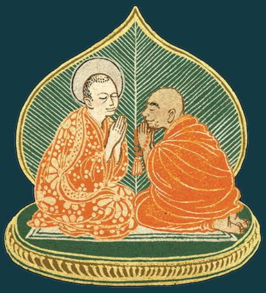 Illustration of Bryan Mendiola as a Bodhisattva
