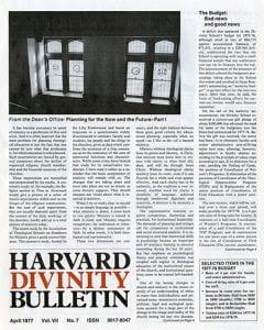 April 1977 Bulletin issue