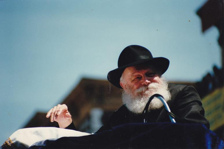 Photo of Rabbi Menachem Mendel Schneerson