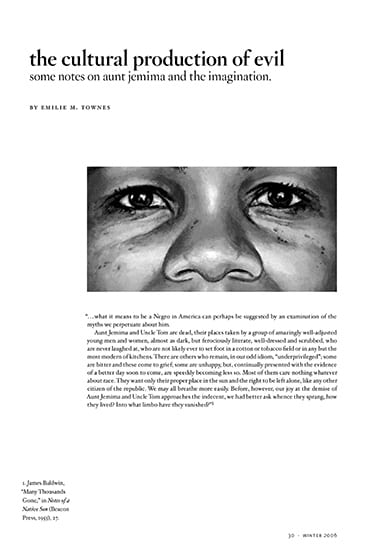 Screenshot of magazine page