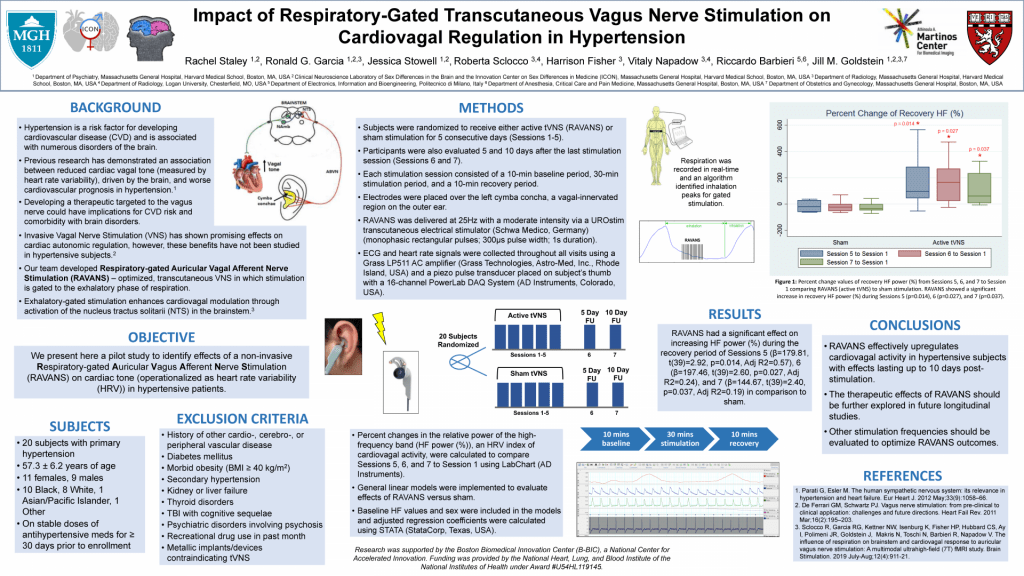 Impact of Respiratory-Gated Transcutaneous Vagus Nerve Stimulation on Cardiovagal Regulation in Hypertension