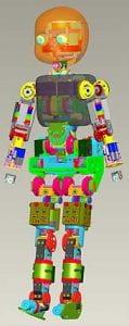 robot colorato