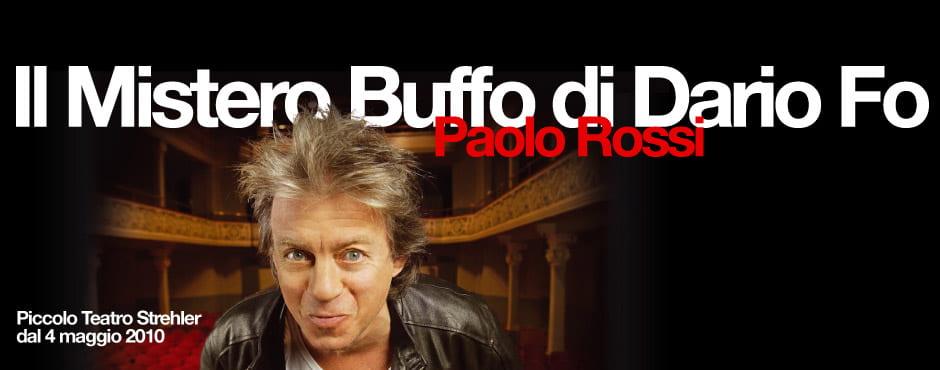 """Paolo Rossi: """"Con Mistero buffo vi racconto il nuovo Medioevo"""""""