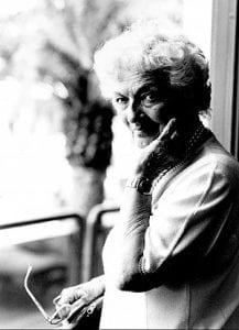 foto di Suso Cecchi D'Amico, donna anziana