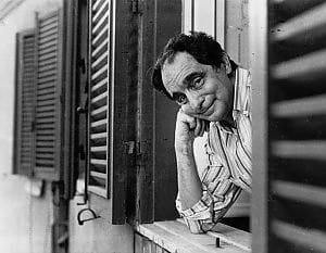 Italo Calvino alla finestra