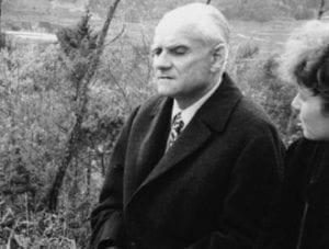 Moravia, uomo anziano
