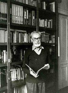 Primo Levi in biblioteca