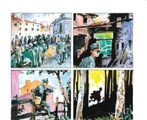 L'unità d'italia quattro vignette a fumetti