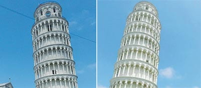 La nuova Torre di Pisa