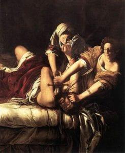 Giuditta decapita Oloferne ,dipinto di Artemisia