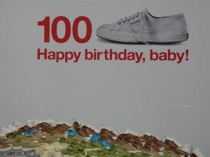 Spot pubblicitario per i 100 anni della Superga
