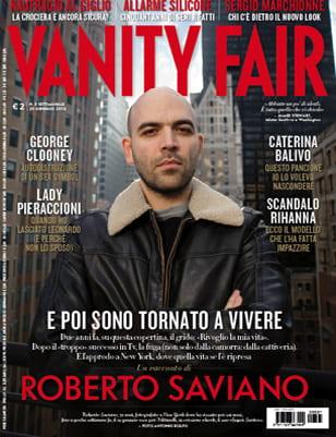Roberto Saviano copertina dell'anno