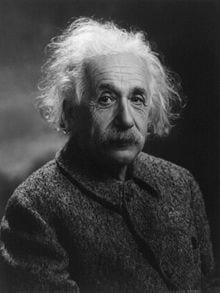 Fotografia di Einstein