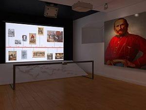 Memoriale Garibaldi in un museo