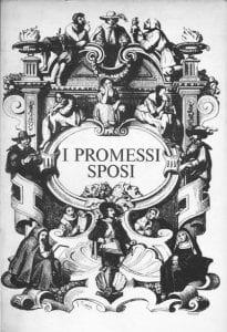"""Copertina classica dei """"Promessi sposi"""""""