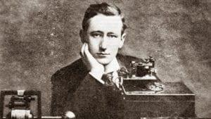 Immagine d'epoca di Guglielmo Marconi