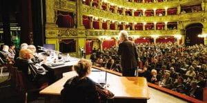 """Teatro La Scala"""" scena di un processo"""