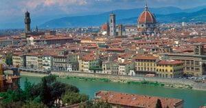 Panorama di Firenze, di giorno
