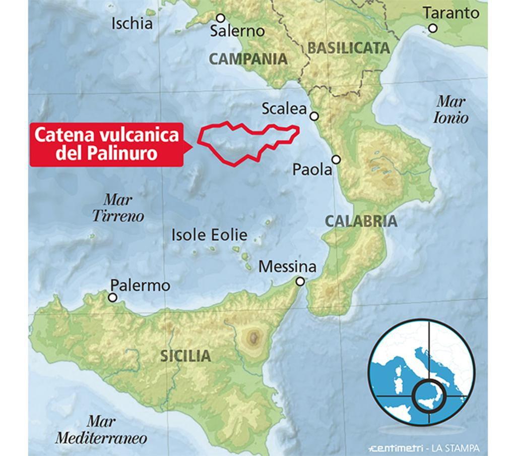Negli abissi del Tirreno scoperti nuovi vulcani