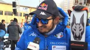 Lo sciatore italiano Dominik Paris.