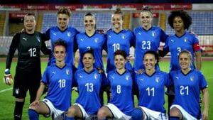 Squadra italiana femminile di calcio