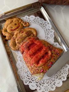 Pupe prodotte dalle mani della nostra coautrice Elvira diFabio e dalle manine delle sue nipotine.