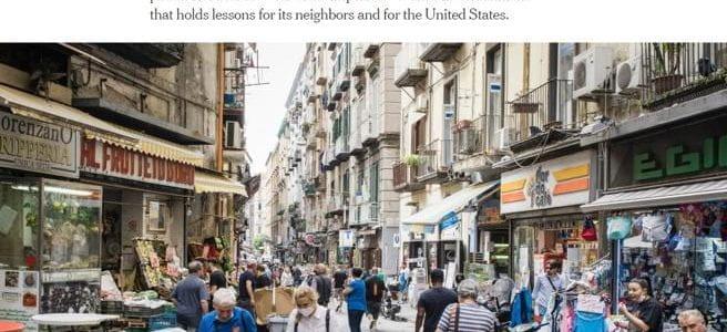 Coronavirus, il New York Times elogia l'Italia