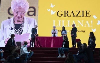 Liliana Segre, nell'ultimo discorso affida ai giovani la testimonianza della Shoah